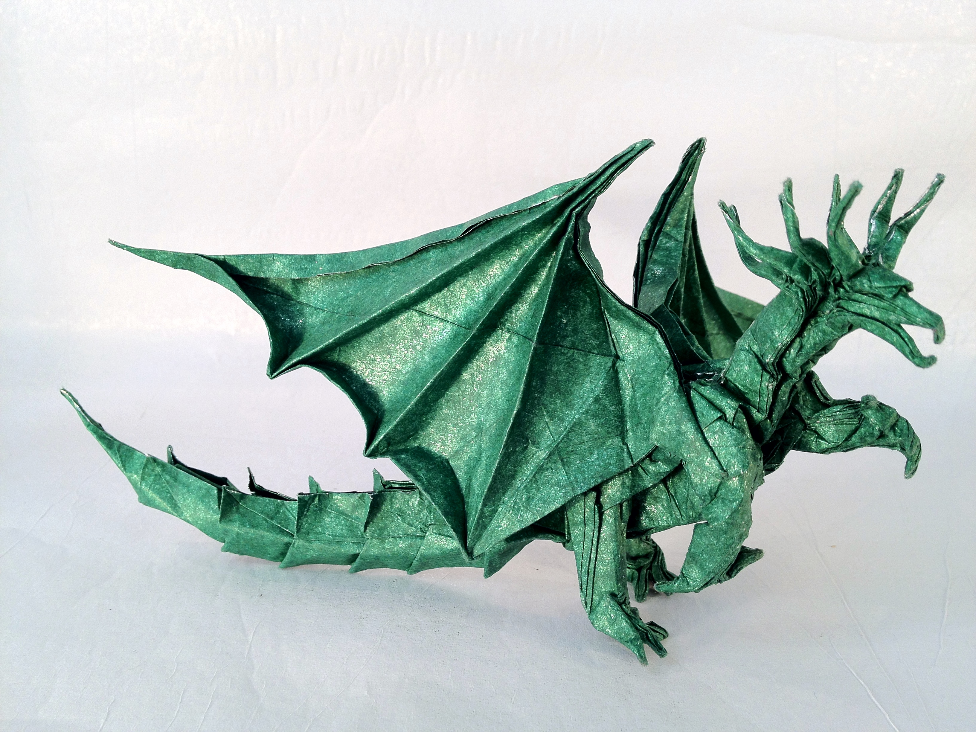Origami Instructions Dragon Folding