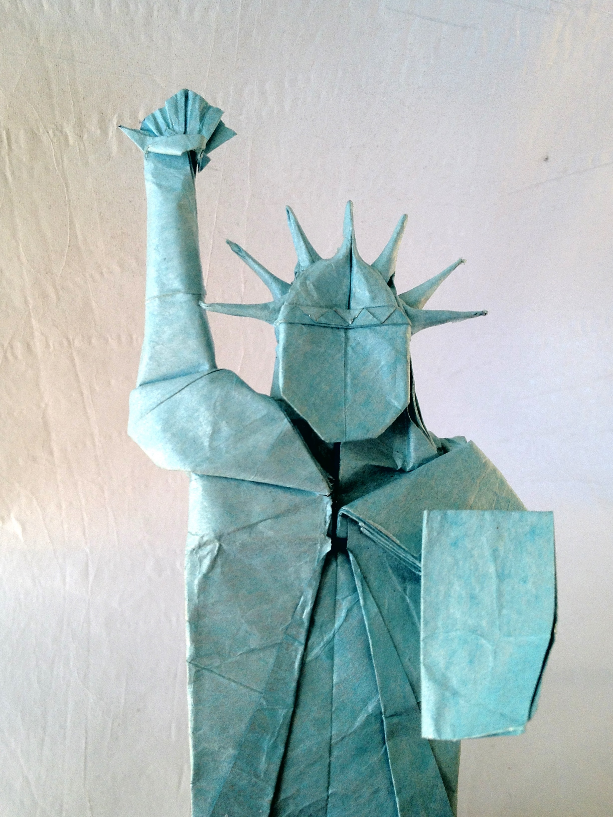 statue of liberty friesen folding. Black Bedroom Furniture Sets. Home Design Ideas